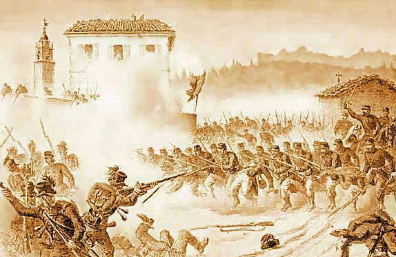 Batalha de Varese Maggio - 1859